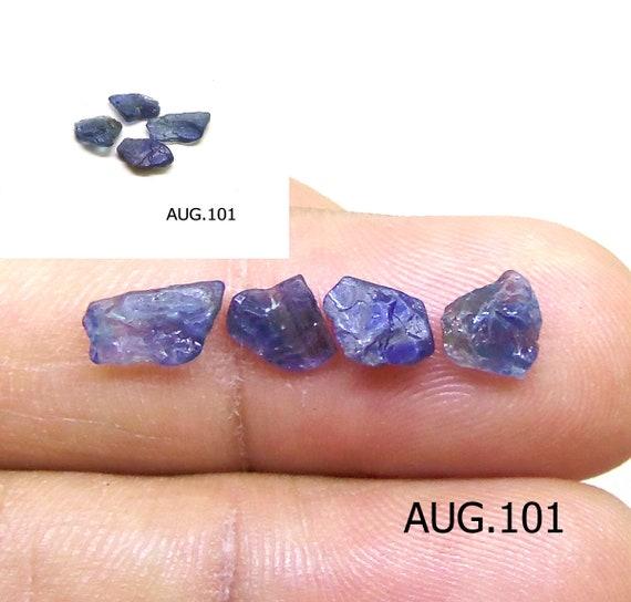 Saphir Bleu de Birmanie 100/% Naturel Certifié Ovale de Pierres précieuses 4-6 Ct