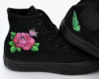 3db5cd644316 Floral Converse