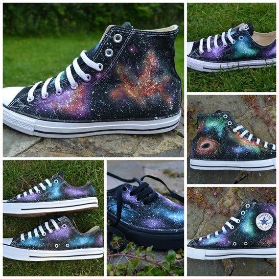 9b6383c6be65 Your own CUSTOM COLOURS   STYLE Galaxy Converse Custom