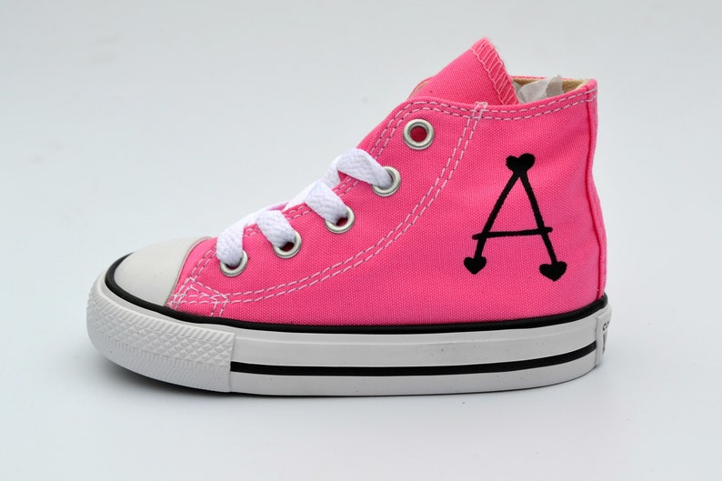 53423bbc5027 Kids Shoes Baby Shower Gift Personalised Converse