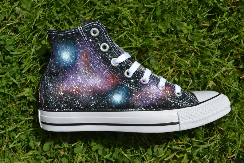 1aafbe0cfbb5 Space Sneakers Galaxy Converse Nebula Converse Painted