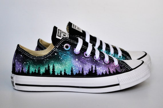Blue On Blue Sneakers Style Free Rose Galaxy Sneakers