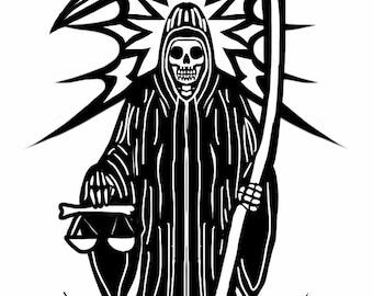 Santa Muerte Love Soap Etsy