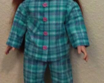 American Girl Plaid Pajamas