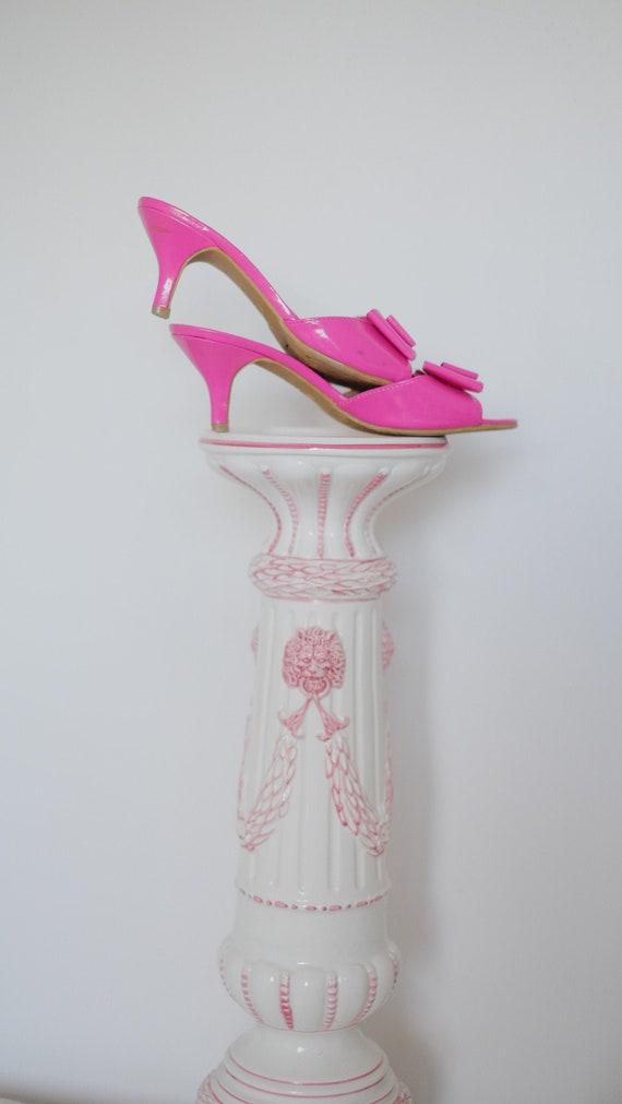 Vintage Springolators Slip On Juicy Barbie Pink Ki