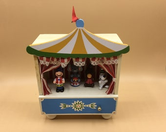 Circus Music Box Etsy See all artists, albums, and tracks tagged with circus music on bandcamp. circus music box etsy