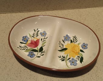 Stangl Fruit Pattern Divided Dish
