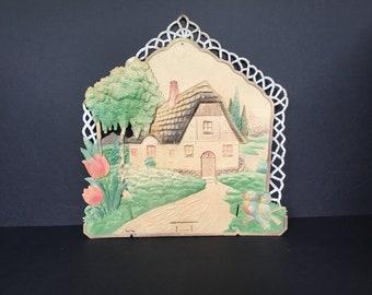 Paper Mache Calendar Holder - Germany