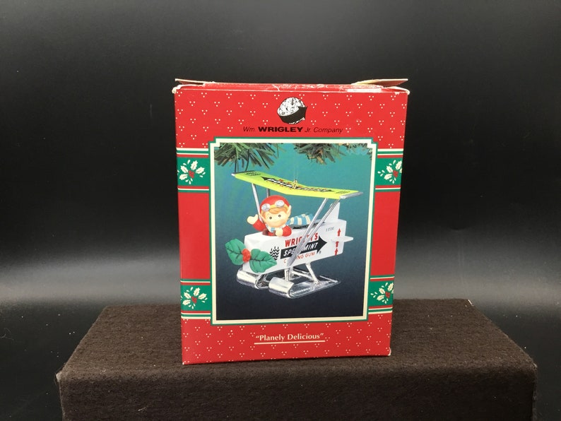 1995 Plainly Delicious Enesco Spearmint Gum Ornament