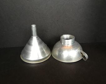 Vintage Canning Funnels - Set of 2
