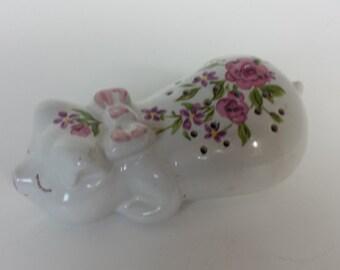 Pig Potpourri Holder