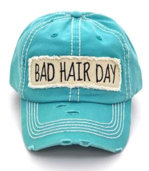 6d74ffb4 women's ball cap hat bad hair day baseball cap vintage | Etsy