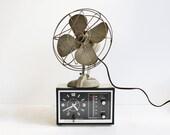 Vintage Metal Desk Fan from Bersted Mfg. Co. Model No. 1000J