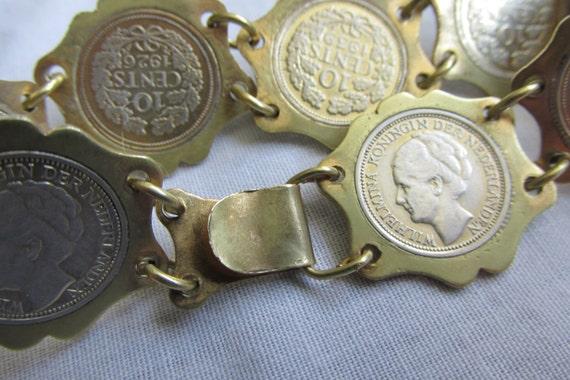 Niederlande Silber 10 Cent Münze Armband Meist Der 1930er Etsy