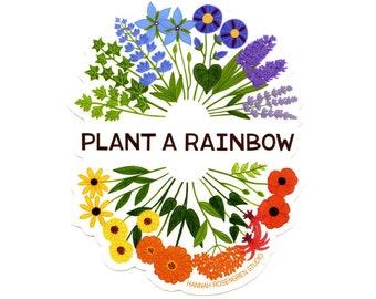 Plant a Rainbow Sticker
