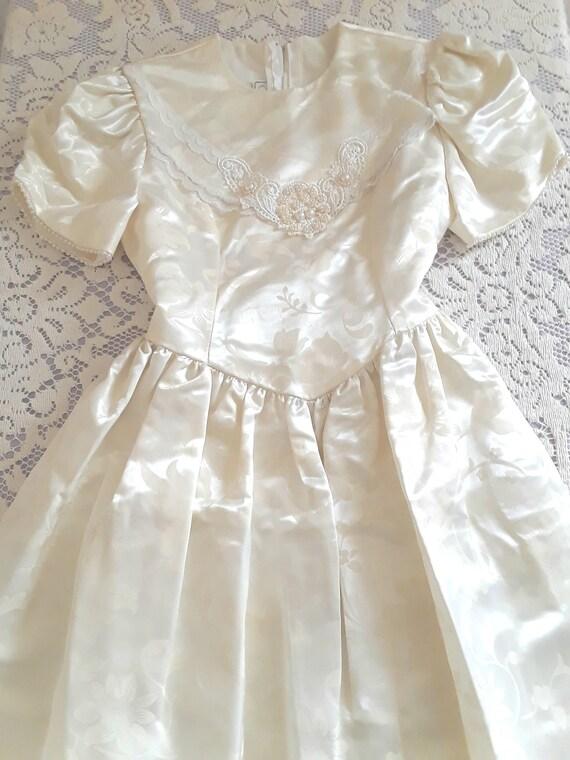 Girl's Gunne Sax Dress, Size 10 - image 1