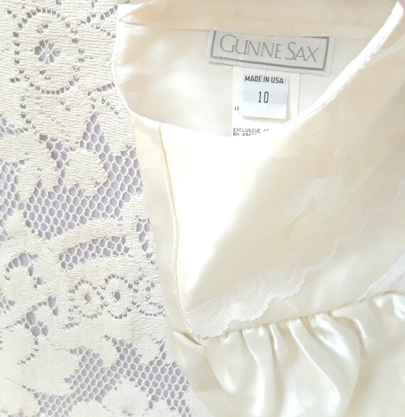 Girl's Gunne Sax Dress, Size 10 - image 2
