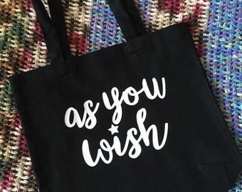 tote bag - wish