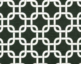 Gotcha Slub Charcoal Premier Prints - One Yard - Home Dec Fabric