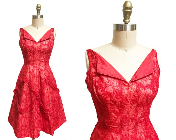 Vintage 90s Printed Sheer Leopard Rose Print Asymmetrical Lingerie Slip Sleep Halter Dress Size Small