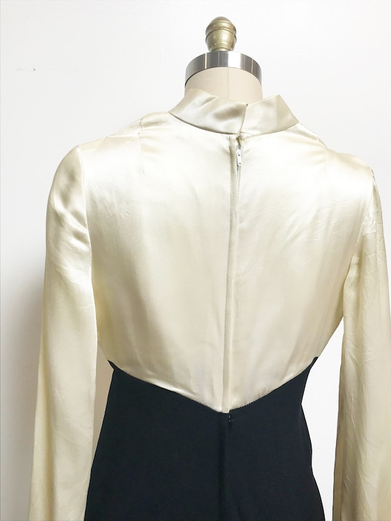 Rare Vintage 1960's 1940's Inspired Jumpsuit - Ro… - image 3