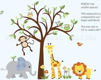 Jungle Animal Decals Etsy