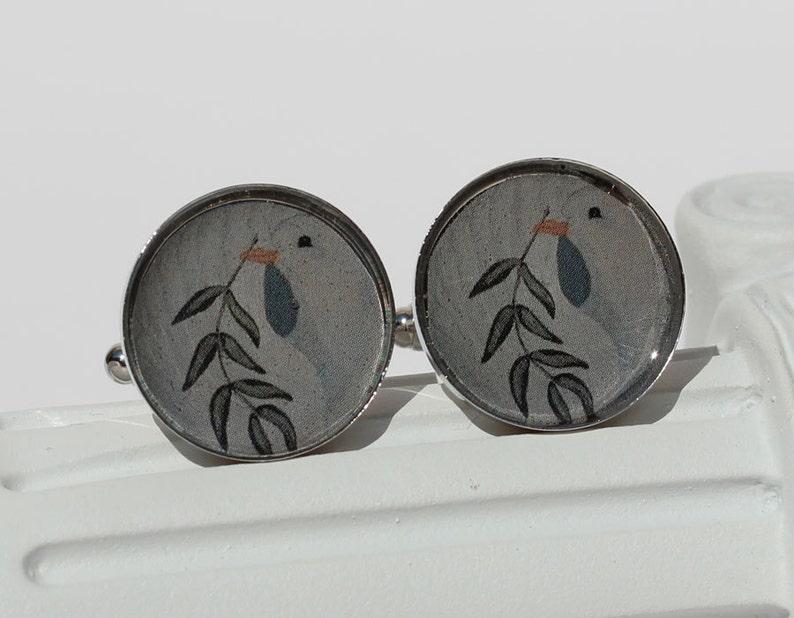 Dolphins /& Doves Cuff Links 3-901 Peace Dove artistic designer art jewelry peace love harmony