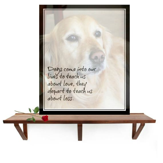 H Dogs Come Into Our Lives Such A Beautiful Thought Dogs Etsy