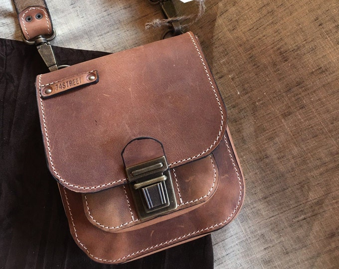 Man Leather Bag, Leather Crossover Bag, Cross Body Bag, Viorel Cross Over Bag, Man Bag, Man Bags, City Bags, Handmade Bags, FREE SHIPPING