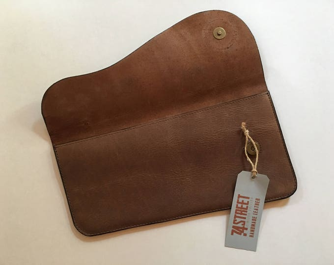 Evening Clutch, Hand Purse, Retro Clutch, Handmade Clutch, Genuine Leather Camel Clutch, Cocktail Purse, FREE SHIPPING