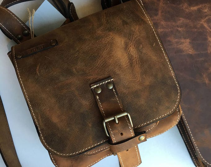 Man Leather Bag, Leather Crossover Bag, Cross Body Bag, Cross Over Bag, Man Bag, Man Travel Bag, City Bags, Leather Bags, FREE SHIPPING
