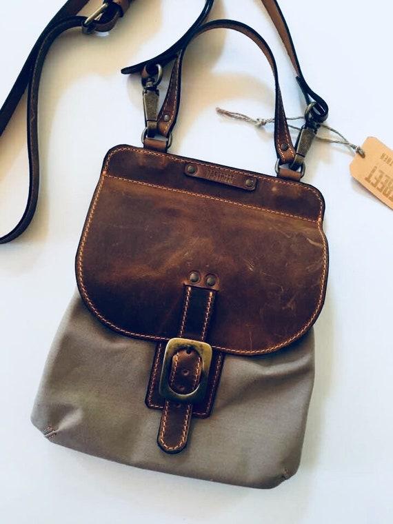 Canvas Satchel, Cross Body Pouch, Handbag,Handmade Bag, Canvas and Leather Crossbody Bag,Custom order Bag,Casual Bag