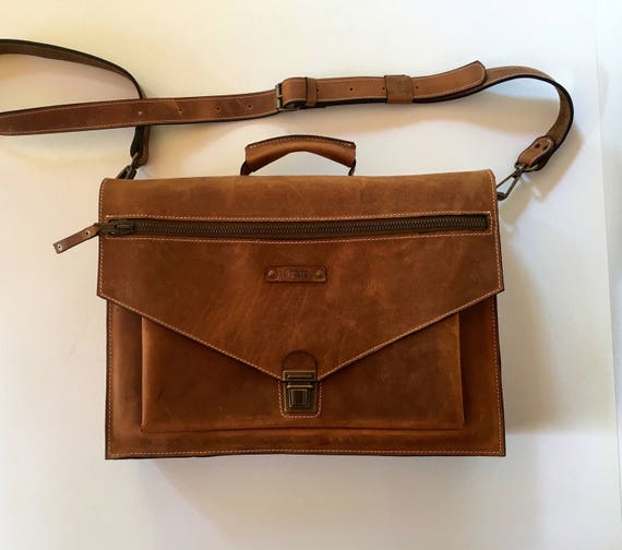 15 inch laptop bag, CEO Rusty Briefcase, Leather Briefcase, Genuine Leather Messenger Bag, Office Bag, Man  Laptop Bag