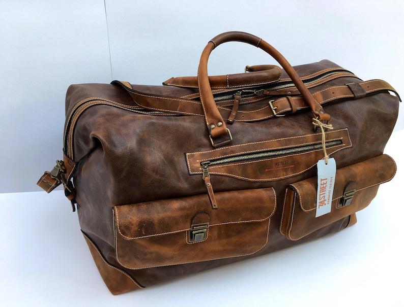 Travel Bag Large Handmade Travel Bag Business travel Bag  17f6e51d7f523