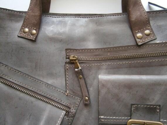 """Waterproof Laptop Leather Bag,15"""" Laptop Bag, Waterproof bag Full Grain Leather Briefcase, Briefcase, Handmade Laptop Bag"""