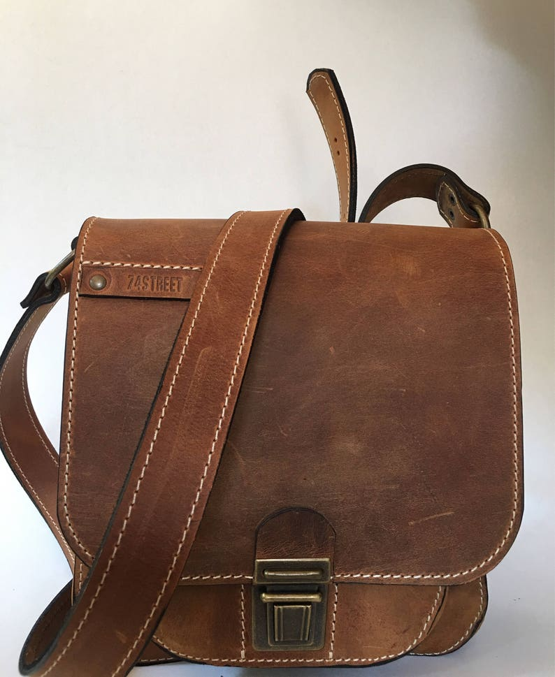 City Bags Cross Body Bag Man Leather Bag Man Bag Leather Crossover Bag Handmade Bags, Man Bags Viorel Cross Over Bag