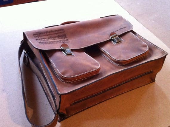 Luxury 15 inch laptop bag, Mr.Jones's Leather Briefcase, Vintage Genuine Leather Messenger Bag, Office Bag, Man Briefcase