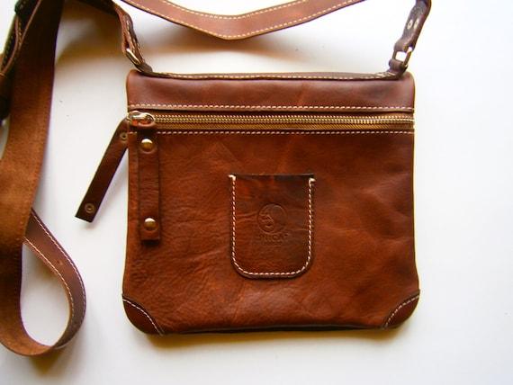 Folded Bag, Handmade Genuine leather bag, Crossbody bag, Leather bag, Crossover bag, Gift for woman, Gift for man