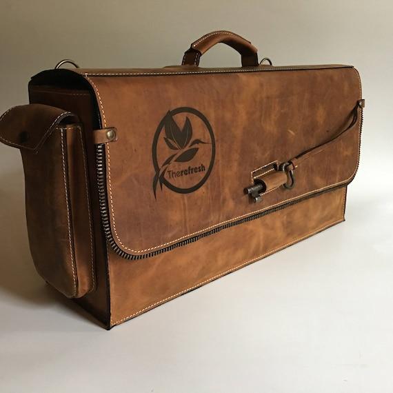 Barista Bag with your Logo, Bartender Briefcase, Padded bartender bag, Barman Bag, BARISTA Bag, Barista Briefcase