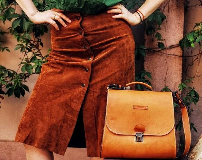 Gladstone Bag, Luxury Leather Bag, Doctor Bag, Leather Bags, Top Handle bag, Top handle bag, vegetal tanned leather bag, LIFETIME BAG