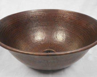 Copper Vessel Sink | Etsy