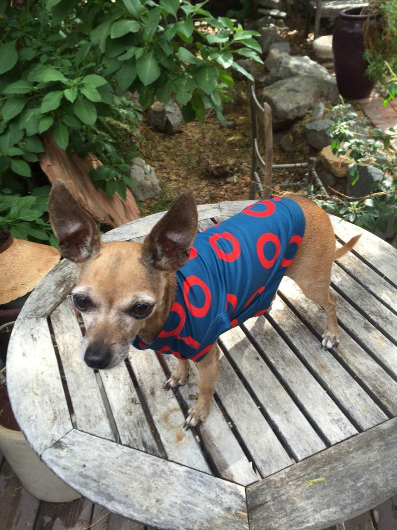 Phish Fishman Donut Dog Shirt   Pet Clothes   You Enjoy My  eae8d087b