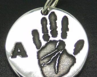 Custom Handprint Charm