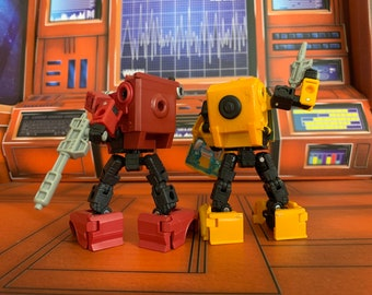 Transformers Earthrise Upgrade Backpack for Bumblebee and Cliffjumper.