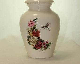 Cremation Urn, Jar with lid,Small Urn, Baby Urn, Infant Urn,Pet Urn,Kitten urn. art pottery, handmade