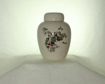Ceramic Jar with Lid  Cremation Urn, Baby Urn, Keepsake Urn,  Pet Ashes Urn, Art Pottery, Handmade Urn