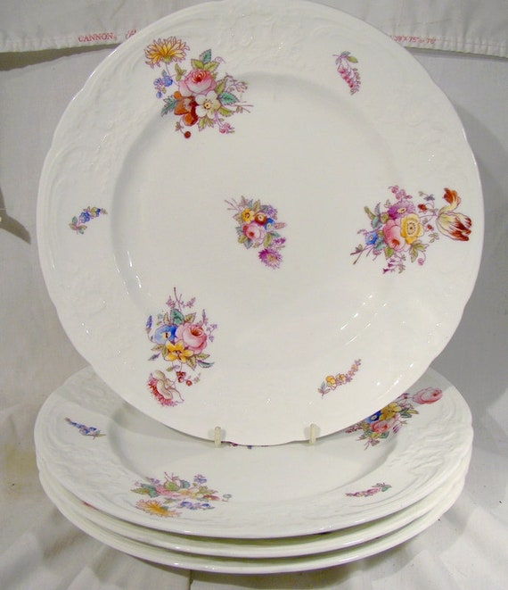 """Coalport Sevres Group Embossed 5 1//2/"""" Bread and Butter Plate s"""