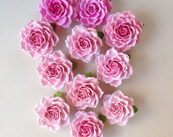 Pink roses for the bride hairstyles wedding party festival gala day