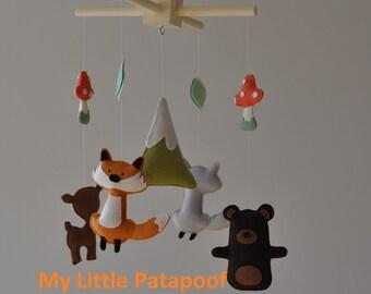 Baby Mobile - Woodland