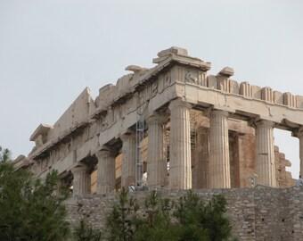 "Greece Photography ""Greek Parthenon Ruins, Athens Greece"""
